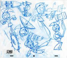 Teenage Robot: Jenny by Frederator-Studios