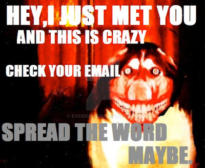 SPREAD THE WORD MAYBE by EveIrken