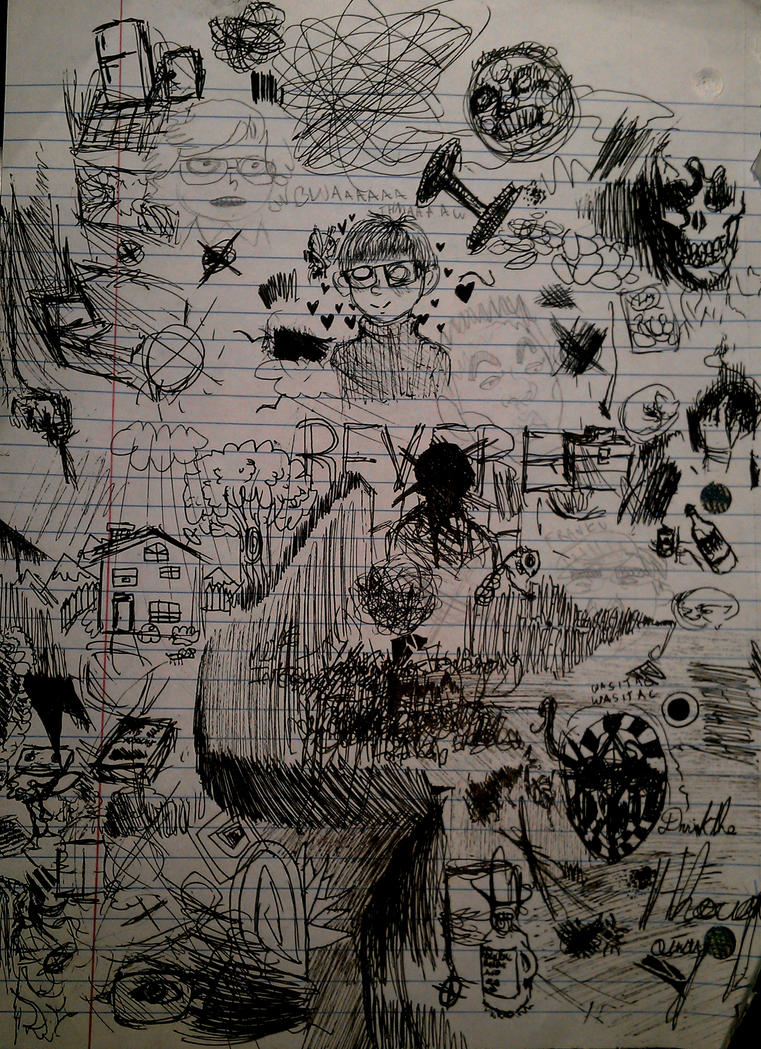 Scribbles by EveIrken