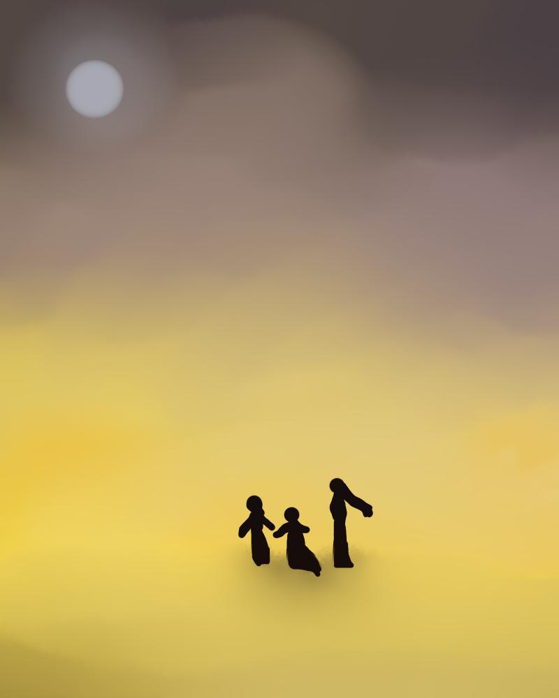 Concept art - magi desert by Rosyane