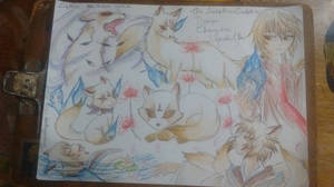 Design character - Fox youkai Youki Livapti by Rosyane