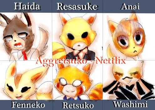Aggretsuko - SixFanart