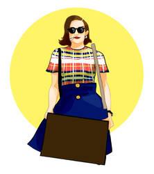 Peggy Olson by Baleineau