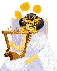Queen Puabi by Baleineau