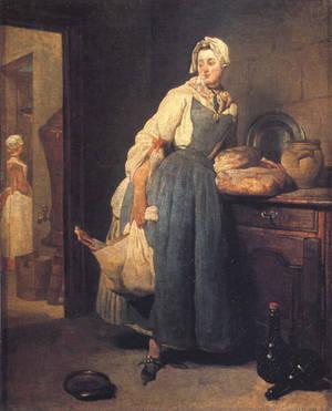 Chardin 1739 Back-from-the-market Ggw-31211 by Baleineau