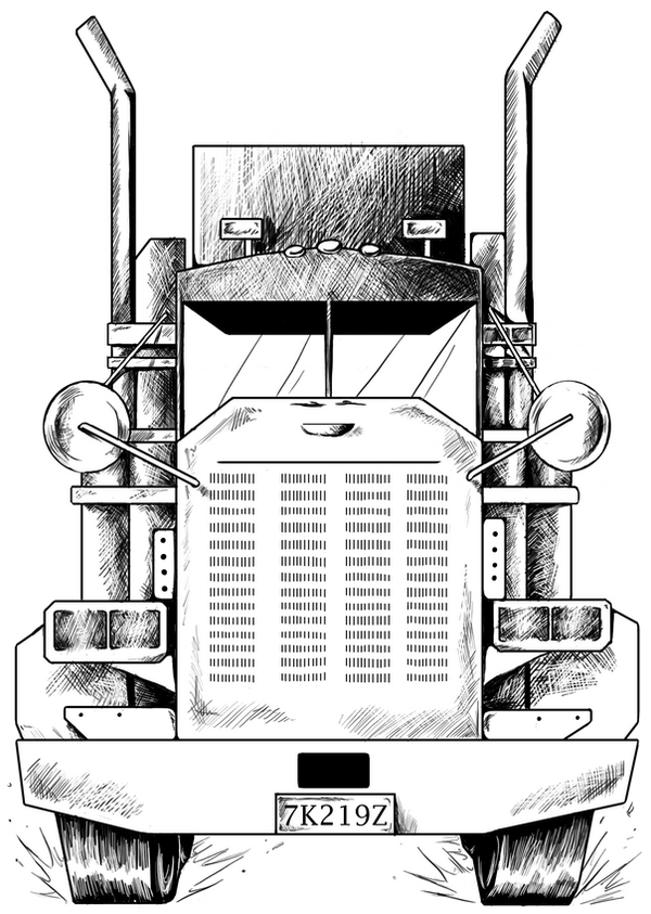 Kenworth dump truck clipart furthermore Mack Truck Wiring Diagram Free Download additionally Scs Peterbilt 389 Skinning Template Ats furthermore Stock Abbildung Zeichnen Schwarzweiss Skizze Von Lkw Image47864879 also Fire truck outline clip art. on kenworth trucks