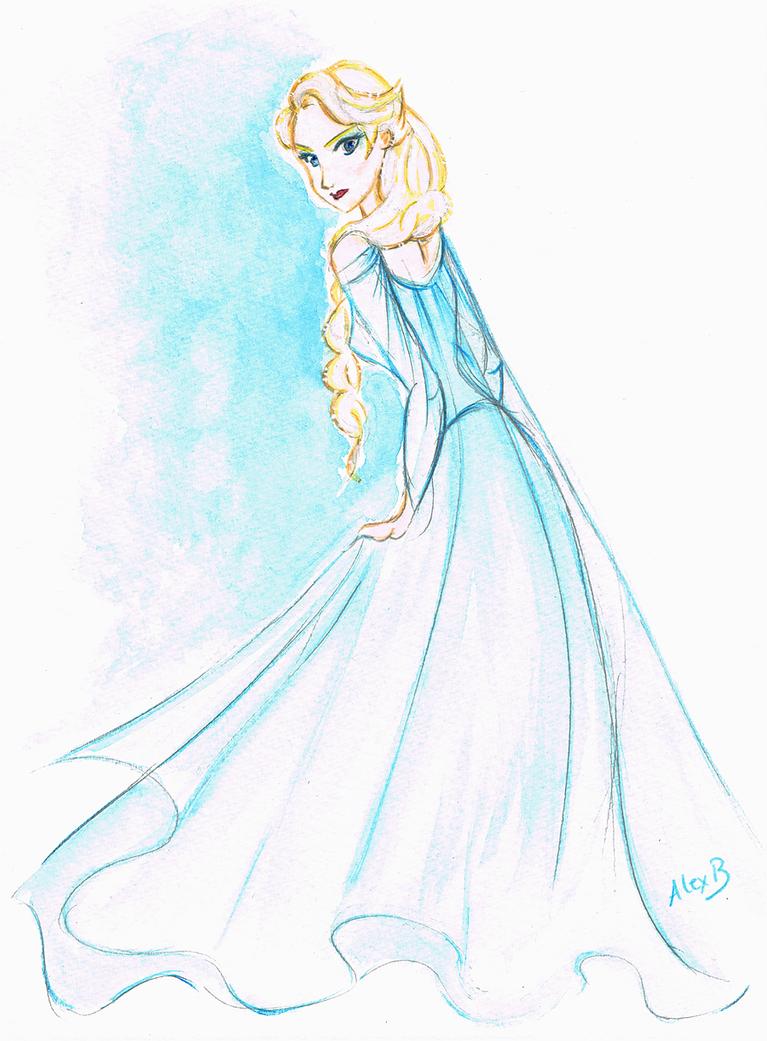 Disney 39 s frozen elsa la reine des neiges by - Disney reine des neige ...