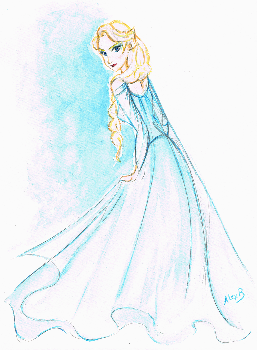 Disney 39 s frozen elsa la reine des neiges by alexanderbim on deviantart - La reine elsa ...