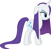 Rarity is not amused by Diskein