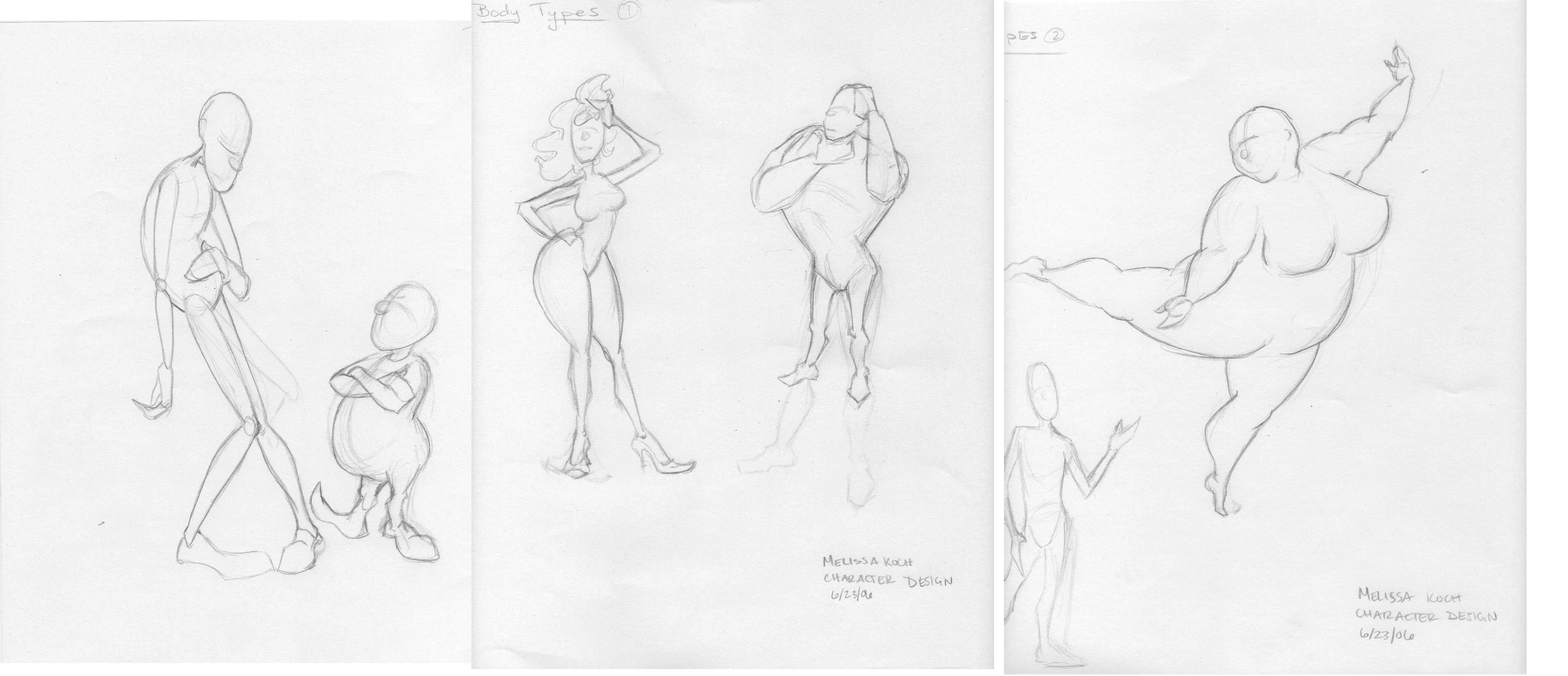Character Design Body : Character design body types by faryndreyn on deviantart