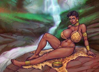 Ahanti by boobsgames