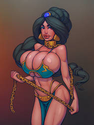 Slave Jasmine by boobsgames