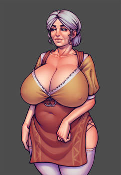 Warlock and boobs: Agneshka