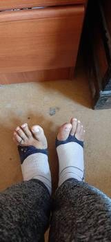 Holey Socks 1