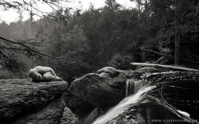 Candace - Raymondskill Falls by silverystars