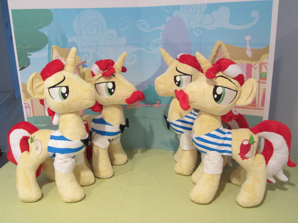 double trouble!... quadruple trouble? by Plushypuppystudio