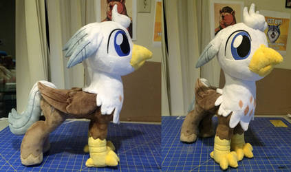 Silver-quill plush