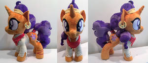 saffron masala plush by PlushyPuppy