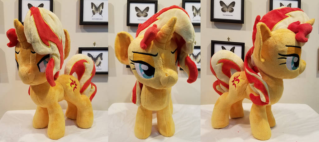 Sunset Shimmer with bedroom eyes by PlushyPuppy