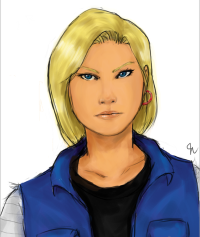 Rev. Android 18 by erebusparcae