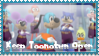 Keep Toontown Open Stamp! by PrincessXAlfie