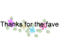 Thanks Fave 3 by vanndra