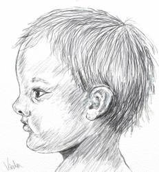 Baby-Face Sketch by vanndra