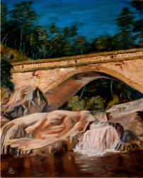 Crystal Creek Bridge by vanndra