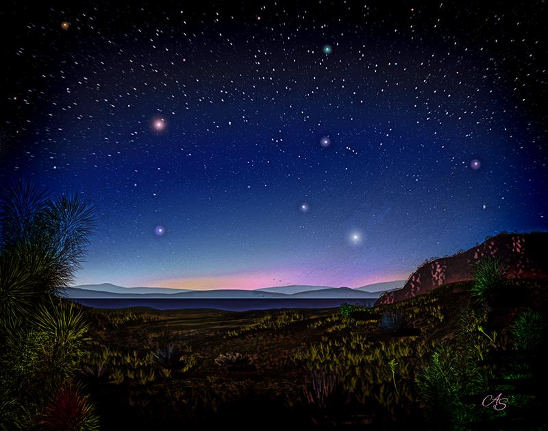 Starry Starry Night by vanndra