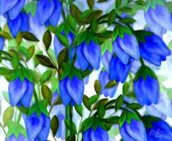 Blue Flower by vanndra
