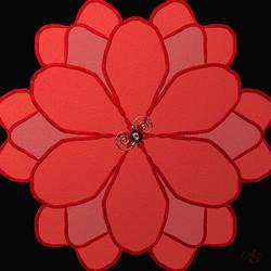 Symmetry Flower by vanndra