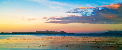 Early Island Sunset