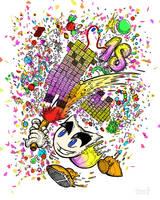 Happy 18th Birthday to Deviant Art by vanndra