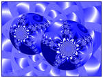 Baubles in Blue
