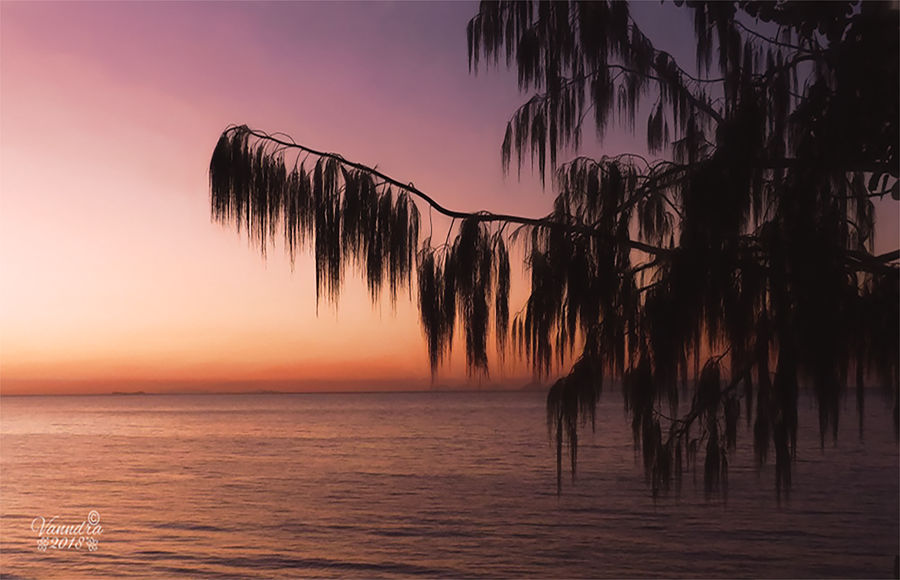 Tropical Sunset by vanndra