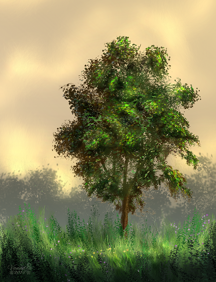 Lonely Tree by vanndra