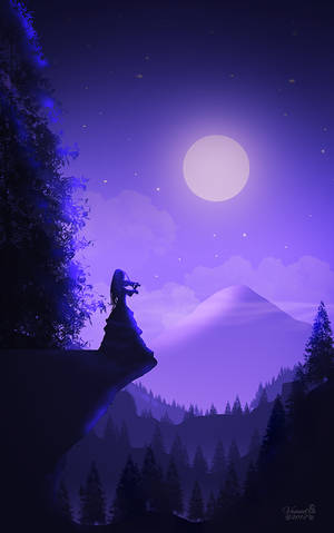 Mountain Music by vanndra