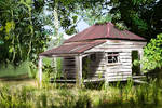 Old Shack by vanndra