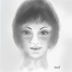 Sketch for PortraitSketchForPE Challenge by vanndra