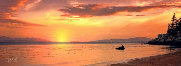 Winter Sunset at Geoffrey Bay