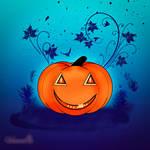 Jack-o-Pumpkin Lantern by vanndra