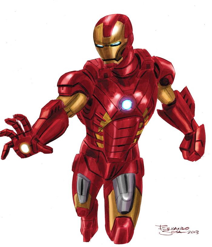 Iron man by sapienstoonz