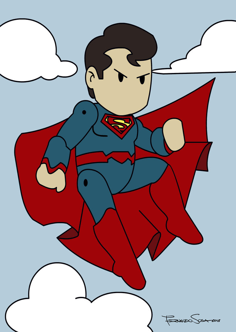 Superman Scribblenauts 2 by sapienstoonz