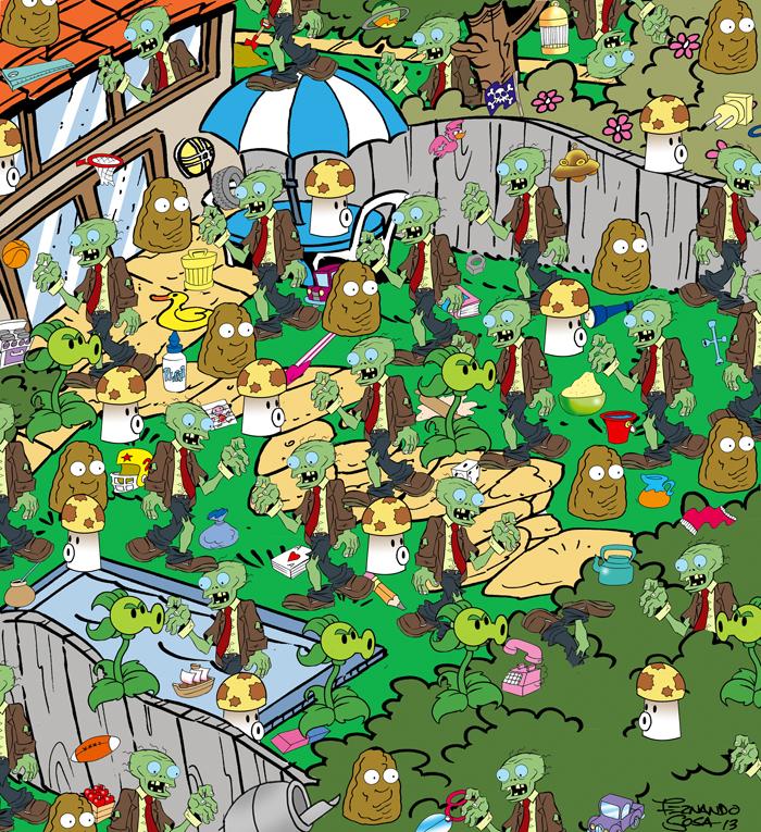 Juego De Mesa Plants Vs Zombies Soficredito