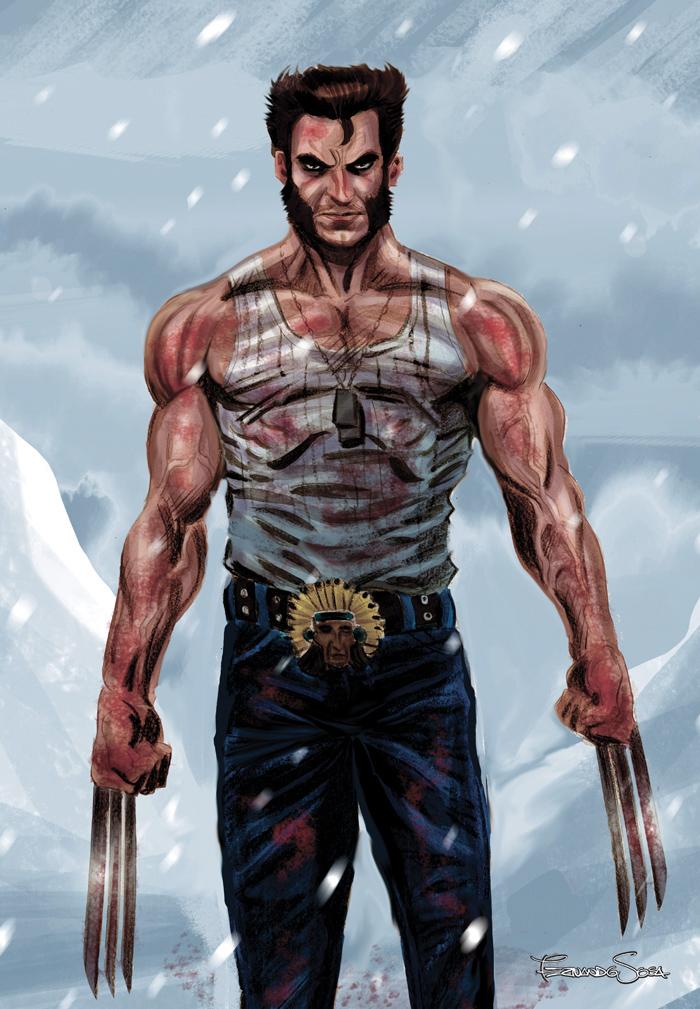 Wolverine 40 aniversario by sapienstoonz