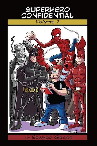 Superhero confidential cover by sapienstoonz