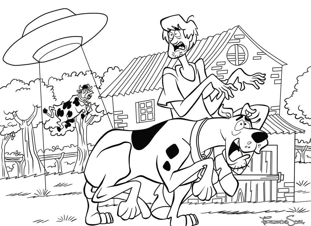 Scooby Doo sample 1 by sapienstoonz