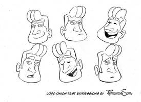 Lord Onion expressions study