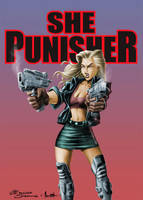 She Punisher by sapienstoonz