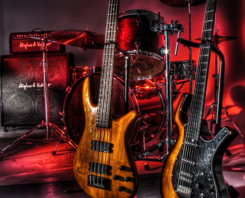 Guitar And Drums Wallpaper Drums Guitars by